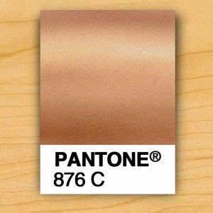 Metallic Car Paint Color Chart Pms 876 C Copper Metallic Ink Gold Pantone Color