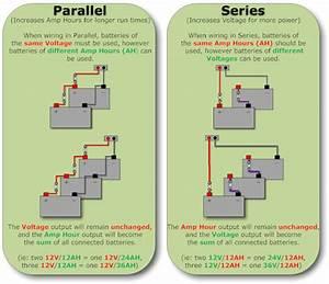 6 Volt Battery Wiring Diagram Batteries In Series Diagram Wiring Diagram