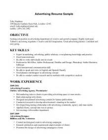 ad sales manager resume advertising sales resume tips