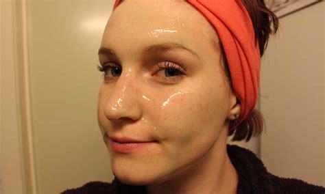 gelatin face mask  home  remove blackheads