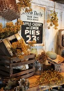 Fall, Display, Fall, Decorating, Fall, Retail, Decorating, Ideas, Timeworn, Treasures