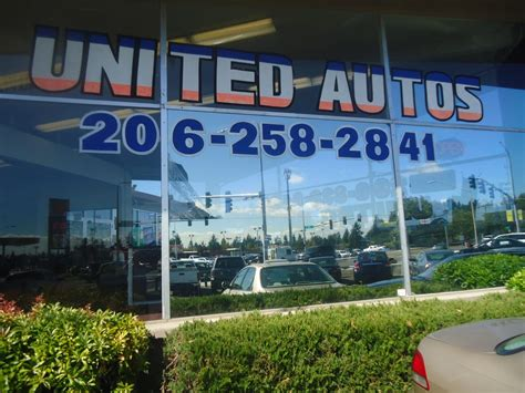 United Auto Group  Bilhandlare  14555 1st Ave S, Burien