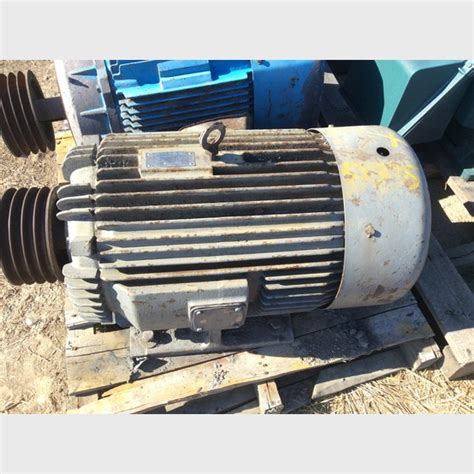 Electric Motors Canada by 100 Hp Toshiba Electric Motor For Sale By Savona Equipment