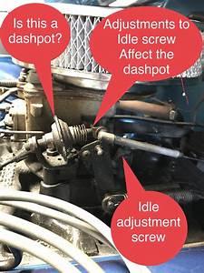 Adjusting Idle And Dashpot On 75 Cj5 W   Motorcraft2100