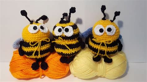 How to Crochet a Bumble Bee Amigurumi - Club Crochet | 266x474