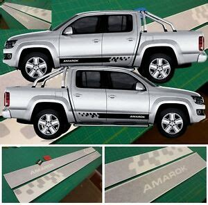 vw volkswagen amarok side stripes graphics decals stickers any colour ebay