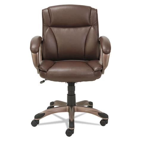 alera veon series low back leather task chair w coil