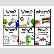 Questioning Posters (who, What, Where, When, Why, How) Rl1, Ri1