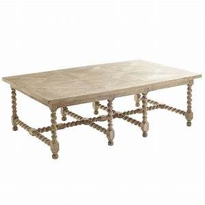 barley twist coffee table wisteria With coffee table spindle legs