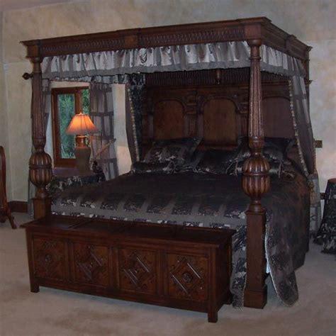 tudor tester bed tudor household pinterest antique