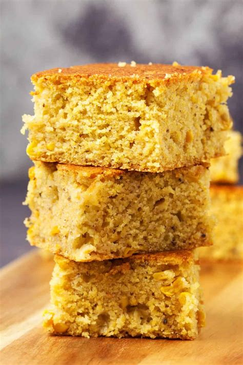 You could add a flax egg, but not really sure. The Best Vegan Cornbread - Loving It Vegan