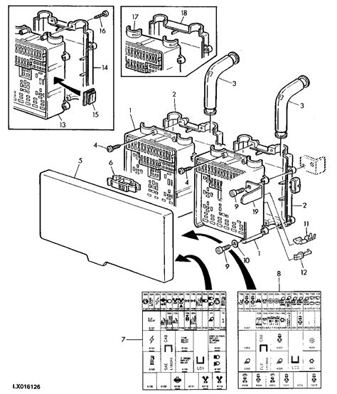 Deere 6400 Fuse Diagram by Wiring Diagrams For Deere Tractor Product Identification