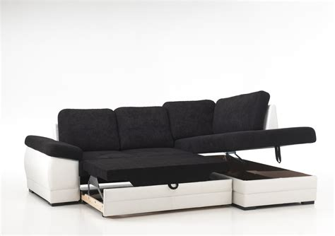 canapé d angle canapé d 39 angle convertible noir pas cher