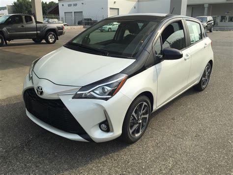 Toyota Yaris 2018 new 2018 toyota yaris hatchback 4 door car in kelowna bc