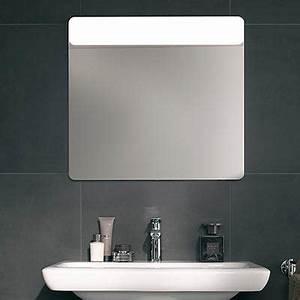 miroir wc meilleures images d39inspiration pour votre With carrelage adhesif salle de bain avec horloge led miroir