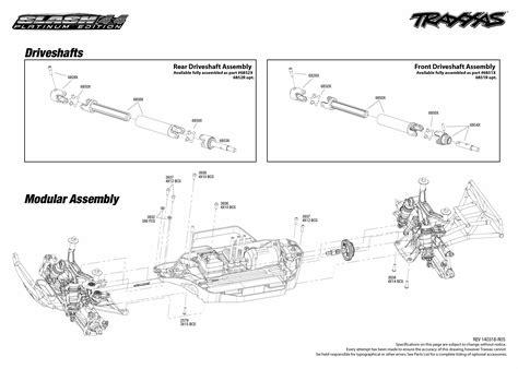 Traxxa T Maxx Steering Diagram by Traxxas Traxxas Slash 4x4 Platinum Trx6804r