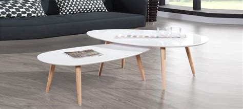 cuisine ronde table ovale scandinave