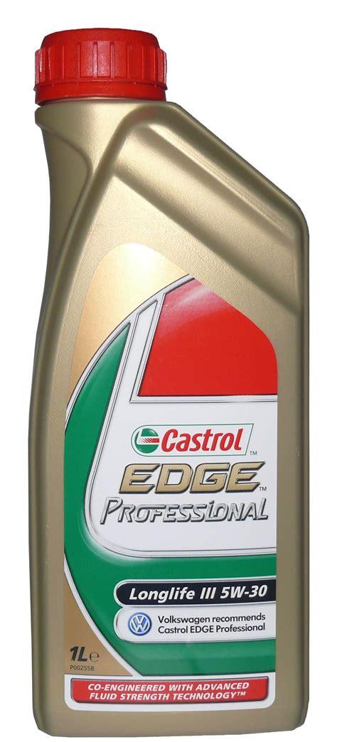 castrol edge professional longlife iii 5w 30 castrol edge slx professional 5w 30 ll iii 1l oleje shop cz