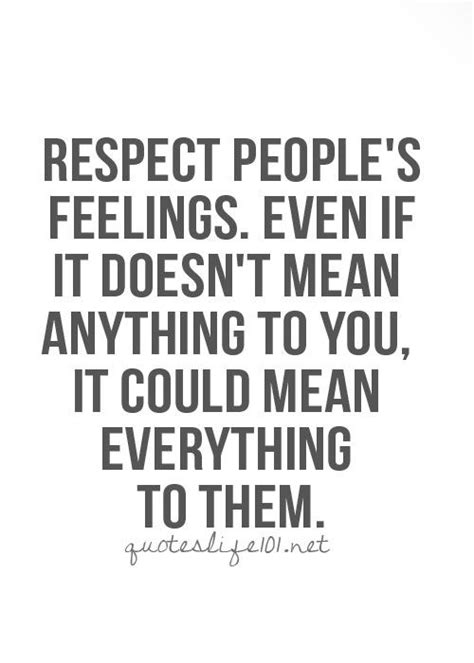 Respect Peoples Privacy Quotes
