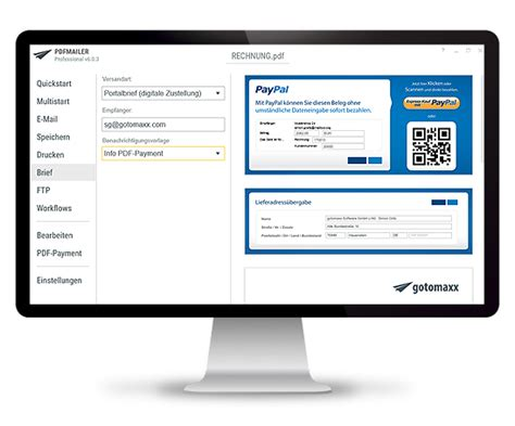 paypal rechnung erstellen privat