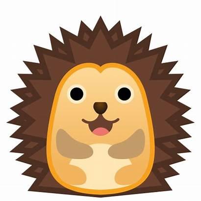 Hedgehog Icon Emoji Clipart Google Animals Svg