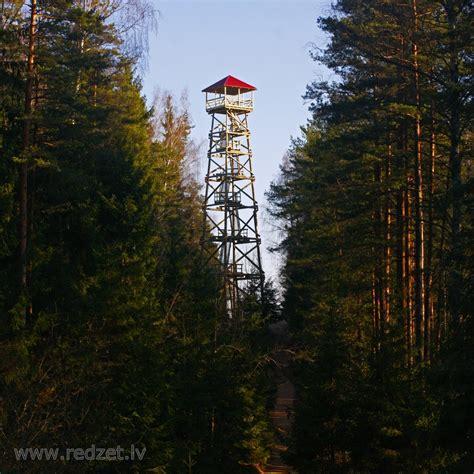 Ogres Zilo kalnu skatu tornis - redzet.eu