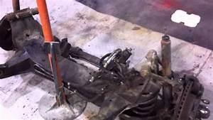 Jaguar Xjs Front Axle Removal