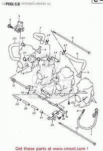 Suzuki Gsxr600 2000  Y  Carburetor Fittings  Model V