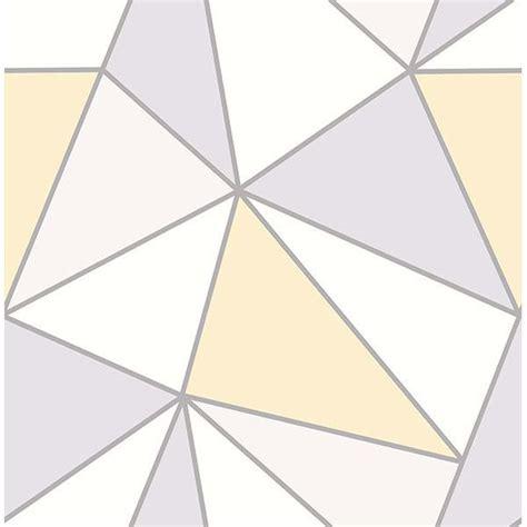apex yellow geometric wallpaper  advantage