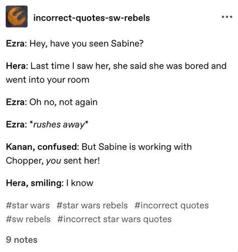 Awwwww #starwarsrebels #kanera | Star wars jokes, Star ...