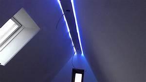 indirekte beleuchtung der decke mit led stripes