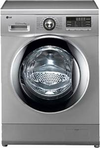 LG 8 kg Fully Automatic Front Load Washing Machine Silver ...