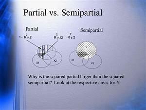 Partial And Semi Partial Correlation