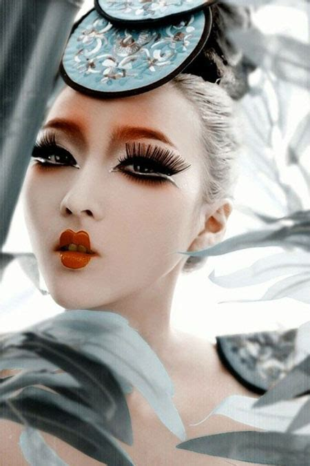 How to do japanese makeup style   Yve Style