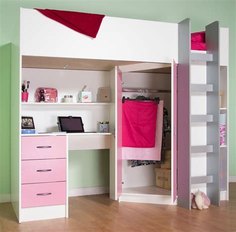 Calder High Sleeper Cabin Bed Kids Rooms And Decor
