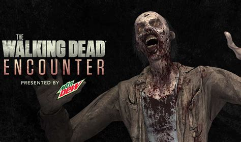 walking dead encounter walkers amc reality app augmented irl years dew mountain ago most
