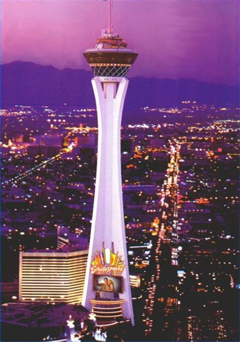 stratosphere observation deck height stratosphere tower l las vegas l 350m l 7fl skyscrapercity