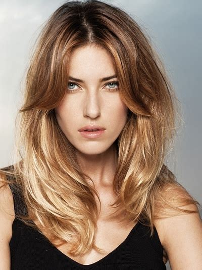women trend hair styles   layered long hairstyles