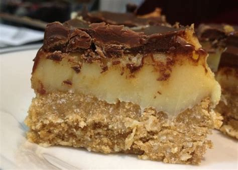 slice caramel gluten chocolate recipe recipes