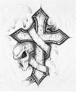 Graffiti Cross Drawing...