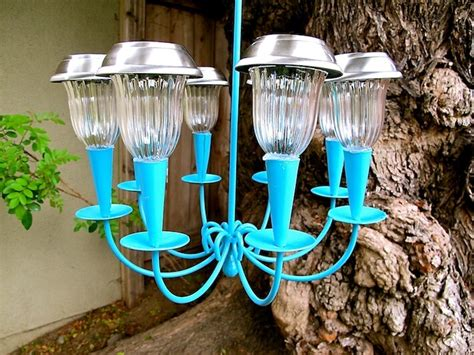 how to make a solar light chandelier homejelly