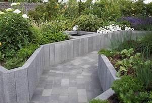 Hochbeet Im Garten : hochbeetgarten hochbeet aus betonpalisaden auf der lgs ~ Lizthompson.info Haus und Dekorationen