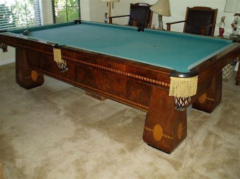 brunswick balke collender pool table 1924 brunswick balke and collender antique pool table