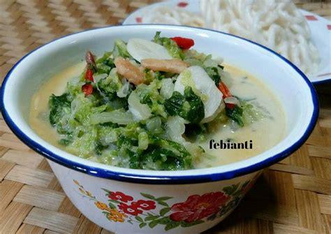 Cara masaknya pun gak ribet, cuma butuh waktu gak lebih dari lima menit. Resep Sawi putih masak santan oleh Febianti Wisnu Putri ...