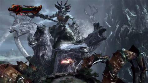 Lets Play God Of War 3 04 Poseidon Boss Fight Youtube