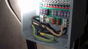 Solar Power System 12 Volt Sub-panel Fuse Box