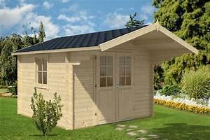 Gartenhaus Mit Vordach : gartenhaus mit vordach sunset b 8 7m 40mm 3x3 hansagarten24 ~ Udekor.club Haus und Dekorationen