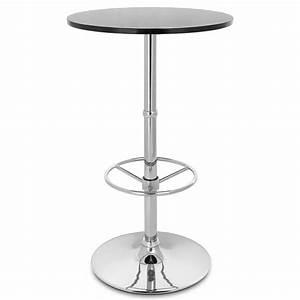 Table De Bar Ronde : table de bar dial ronde monde du tabouret ~ Teatrodelosmanantiales.com Idées de Décoration