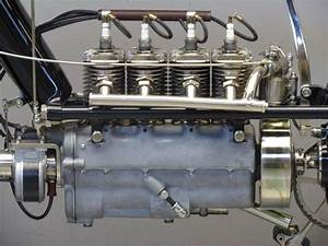 1912 Pierce Motorcycle  4 Cylinder T