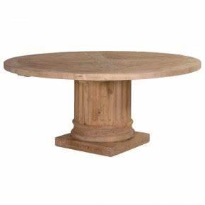 Table Ronde Extensible Pied Central : tables rondes pour salle manger ~ Teatrodelosmanantiales.com Idées de Décoration